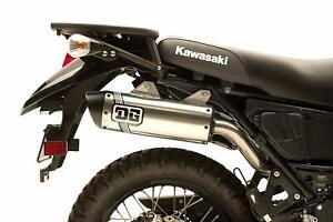 DG V2 Slip On Muffler Exhaust For Kawasaki KLR 650 84-18 071-8650