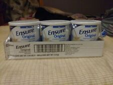 Ensure Original Nutrition Shake Powder Meal Replacement VANILLA 14 oz, 3 cans
