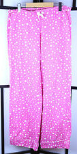 Victoria's Secret Pink Polka Dot PJ Pajama Pants Size Medium Premium