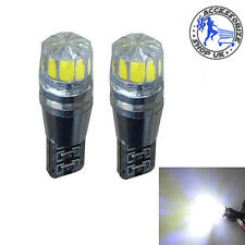 2 X T10 168 194 W5W 501 White LED Car Auto Side Wedge Light Lamp Bulb 12V CREE