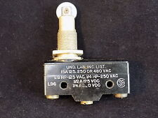 MICRO SWITCH Roller Plunger switch snap BZ-2RQ18T 1/8hp 125vac 1/4hp 250vac