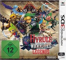 Hyrule Warriors Legends Nintendo 3DS Neu & OVP DE USK 12 Version