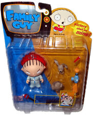 Family Guy Bedtime Stewie Action Figure Series 1 RARE Eye Variant MIB Mezco Toy