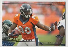 DEMARYIUS THOMAS 2014 Topps Prime Football Prime Timers Card #PT-DT Broncos