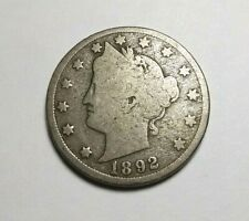 New listing 1892 Barber Silver Dime - G