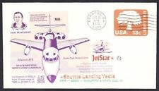 JETSTAR SPACE SHUTTLE MSBLS LANDING SYSTEM TEST FLIGHT 12-10-1976 Space Cover