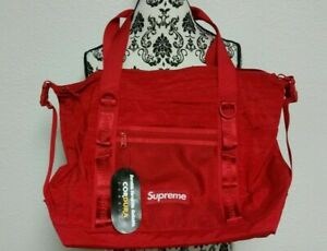 New Supreme Zip Tote Dark Red FW20 NWT New with Tags Free Shipping