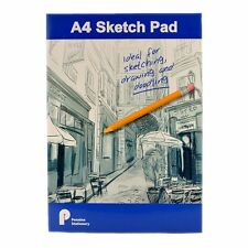 A4 Artist Sketch Paper - Drawing Book Pad 100 Sheets 70 gsm