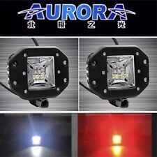 "AURORA 2"" WORKING LIGHT 2 FUNCTION STOP/REVERSE 120* BEAM FLUSH MOUNT (PAIR)"