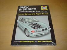 Haynes BMW 5 Série E39 520i 523i 525i 528i 530i Owners Manuel de réparations Handbook
