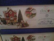 Dept 56 Snow Village SILVER BELLS CHRISTMAS SHOP SET NEW #5655040