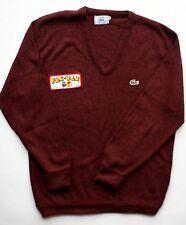 Vintage Izod Lacoste Pac-Man Pullover Sweater Men's Large jumper