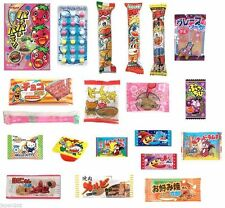 20 PIECE JAPANESE CANDY SET Japanese Candy Ramune Savoury Ramen Gummy Gum -3