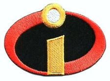 """The Incredibles Patch Logo Movie Embroidered Iron On Applique 3.15"""" X 2.00"""""""