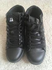 LONDON UNDERGROUND Womens black 5M Ankle Boots