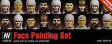 Vallejo VLJ-70119 Face Painting Set (8 Colors)