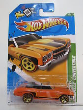 HOT WHEELS 2012 TREASURE HUNT '70 CHEVY CHEVELLE CONVERTIBLE
