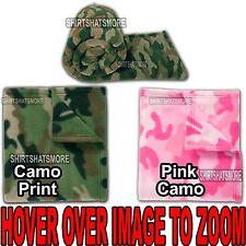 "Polar Fleece Camo Blanket Warm Bedding Throw ""50 X 60"" Super Soft Plush New"