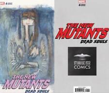 New Mutants Dead Souls #6 Starbase 1552 Comics Bill Sienkiewicz variant cover!