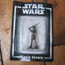 Aayla Secura Star Wars Deagostini Die Cast Metal Figure On Card Free UK P+P