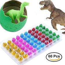 Hatching Dinosaur Eggs Toy, 60pcs Small Dino Eggs Hatch Grow in Water