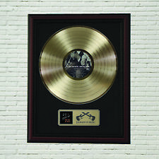 """Eric Clapton and B.B. King Framed Cherry Wood  LP Record Display """"M4"""""""