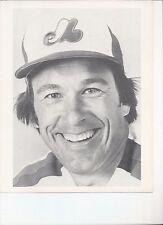 8 x 10 B/W Photo Gary Carter Montreal Expos {178}