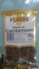 2 × 50G FUDCO BLACK CARDAMOM (ELCHO) PODS PREMIUM QUALITY!