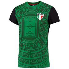 LARGE adidas Originals Men's  MEXICO TEAM FUTBOL TEE Shirt  F77469  Green  1AVL
