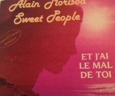 ALAIN MORISOD/SWEET PEOPLE Tape Cassette ET J'AI LE MAL DE TOI 1986 KOSX5-204