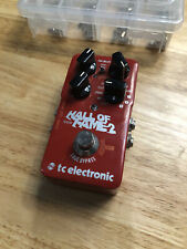 tc electronic Hall of Fame 2 REVERB GUITAR/EFECT PEDAL