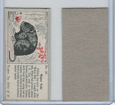 T0-0 Typhoo Tea, Some Countryside Animals, 1955, #20 Water Vole