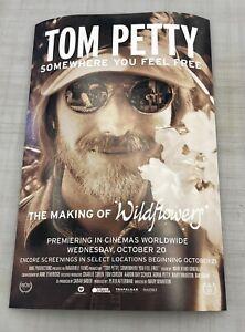Tom Petty Poster 12x18 Somewhere You Feel Free