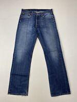 LEVI'S 501 Jeans - W32 L32 - Blue - Great Condition - Men's