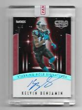 2016 Gala Starring Role Signatures SSP Kelvin Benjamin Auto Panthers Bills #4/5
