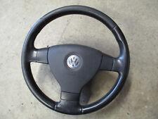3-Speichen Lederlenkrad VW Passat 3C Golf 5 Lenkrad 1K0419091M schwarz