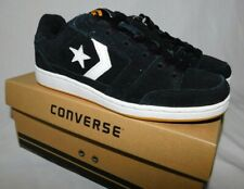 Converse Boys Kids Grimes OX Shoes Size 3 Black Brand New