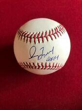 "Greg Maddux, ""Autographed"" (JSA) Baseball w/ HOF '14 Ins. (Scarce / Vintage)"