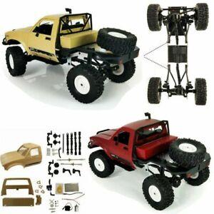 1:16 WPL 2.4G C-14 DIY 4WD RC Truck Off Road Crawler Electric Racing Car Kit New