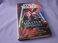 More details for star wars master & apprentice 1st edition hardback claudia gray   hardcover   nm