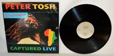 Vinyl Record Peter Tosh Captured Live Get Up, Stand Up J 644470 PROMO ~R1