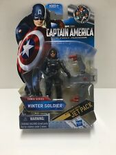 "WINTER SOLDIER Marvel Captain America Comic Series 3.75"" action figure jet pack"