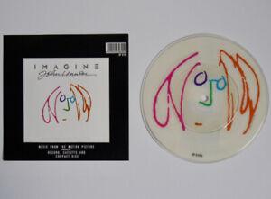 "JOHN LENNON IMAGINE 7"" PICTURE DISC VINYL SINGLE JEALOUS GUY (1988) EMI RP6199"