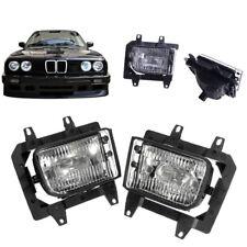 Nebelscheinwerfer für 3er BMW E30 318i 318is 325i 85-1993 Schwarz links + rechts