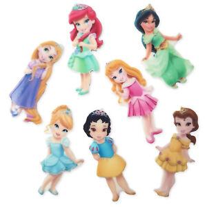 5pcs Fairytale Princess Doll Acrylic Flatback Cabochon Embellishments Craft Mix