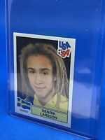 PANINI WORLD CUP USA 94 HENRIK LARSSON SWEDEN STICKER