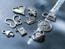 Alice in Wonderland Charms Assorted Charms Fairy Tale Charms Mixed Lot Charms 9