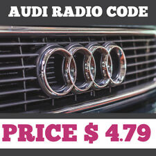 AUDI RADIO CODE | ALL MODELS | BEST OFFER