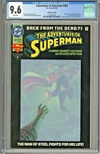 Adventures of Superman #500 CGC 9.6 Collectors Edition Variant Cover 1st Steel