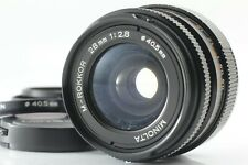 [Exc+4] Minolta M-Rokkor 28mm f2.8 Lens for CL CLE Leica M mount from JAPAN 1034